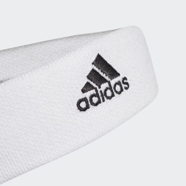 Yoga White Tennis Headband