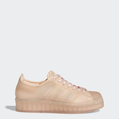 Women Originals Pink Superstar Jelly Shoes