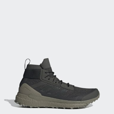 TERREX Green Terrex Free Hiker Parley Hiking Shoes