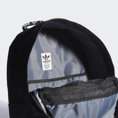 Originals Black Trefoil Pocket Backpack