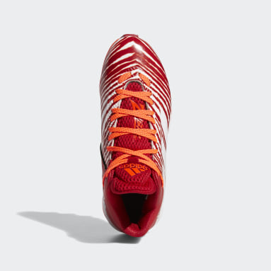 Children Football Red Freak MD J Zubaz Football Cleats