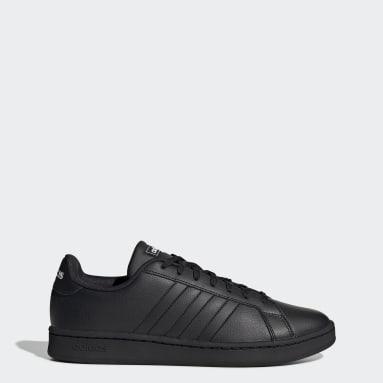 Walking Svart Grand Court Shoes