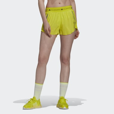 Dames adidas by Stella McCartney Geel adidas by Stella McCartney TruePace Multipurpose Short