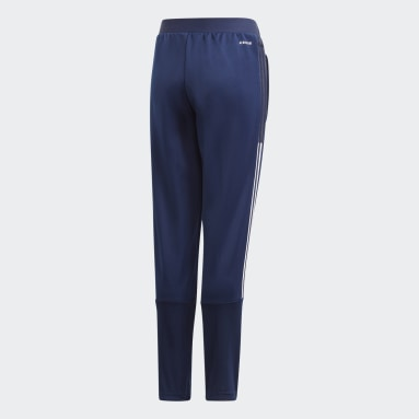 Kids Football Blue Tiro 21 Training Pants