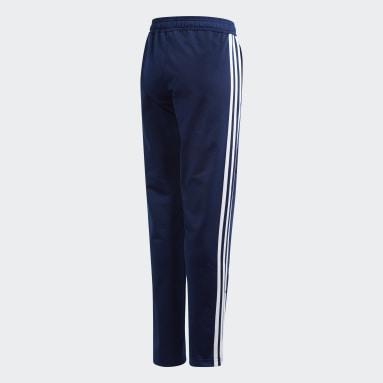 Pantalón Tiro 19 Azul Niño Gimnasio Y Entrenamiento
