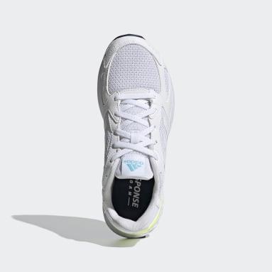 Women Running White Response Run Shoes