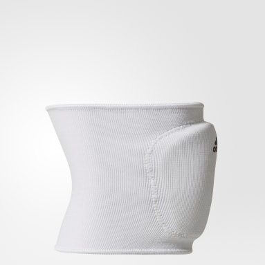 Volleyball White 5-Inch Knee Pads