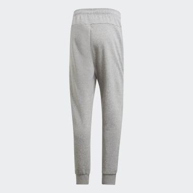Muži Sportswear šedá Kalhoty Essentials Plain Tapered Cuffed