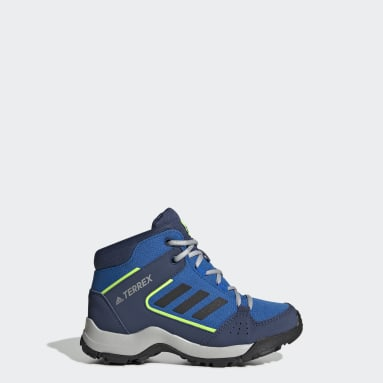 Children TERREX Blue Terrex Hyperhiker Hiking Shoes
