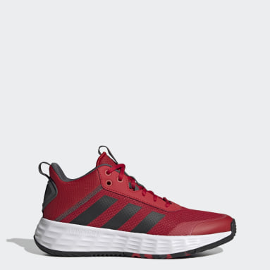 Tenis OwnTheGame Rojo Hombre Basketball