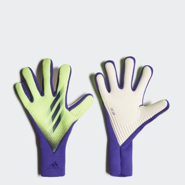 Fotbal zelená Rukavice X 20 Pro
