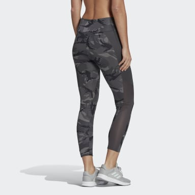 Tight AEROREADY Designed 2 Move Camouflage High-Rise 7/8 Gris Femmes Fitness Et Training