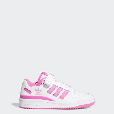 Børn Originals Hvid Forum Low sko