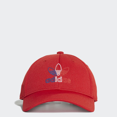 Originals Red Baseball Classic Trefoil Cap