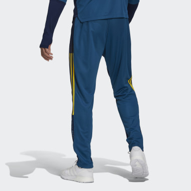 Men Football Blue Arsenal Human Race Training Tracksuit Bottoms