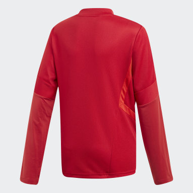 Kinderen Fitness En Training Rood Tiro 19 Training Sweater