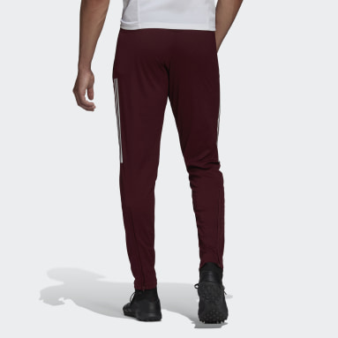 Real Madrid Training Pants Bordowy