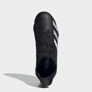Kluci Fotbal černá Kopačky Predator Freak.3 Turf