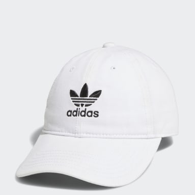 Women's Originals White Relaxed Strap-Back Hat