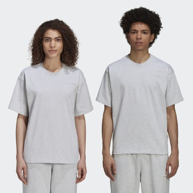 Originals Grey Pharrell Williams Basics Shirt (Gender Neutral)