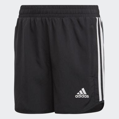 Girls Gym & Training Black Equipment Shorts