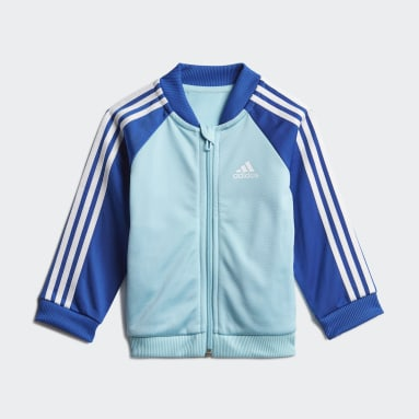 Kids Sportswear Blue 3-Stripes Tricot Tracksuit