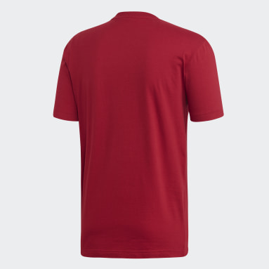 Heren Sportswear Bordeaux Must Haves Badge of Sport T-shirt