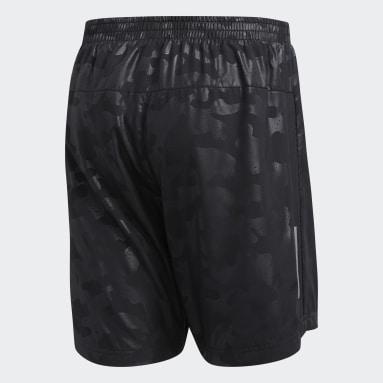 Herr Löpning Svart Run It Urban Camo Shorts