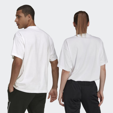 Sportswear White Giant Logo T-Shirt (Gender Neutral)