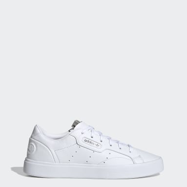 Sapatos adidas Sleek Vegan Branco Mulher Originals