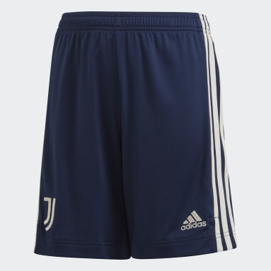 Kids Football Blue Juventus 20/21 Away Shorts