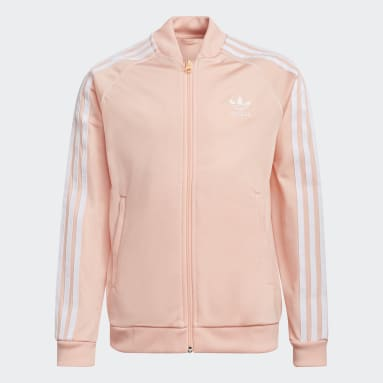 Youth Originals Pink Adicolor SST Track Jacket