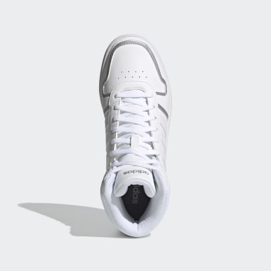 Chaussure Hoops 2.0 Mid Blanc Femmes Basketball