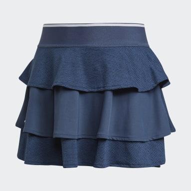 Falda Pop-Up Azul Niña Tenis