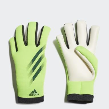 Youth 8-16 Years Football Green X 20 Training Goalkeeper Gloves