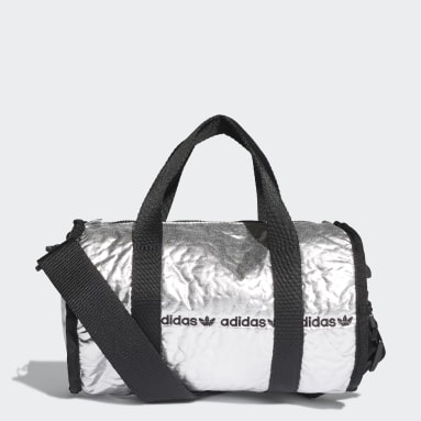 Mini sac en toile argent Femmes Originals