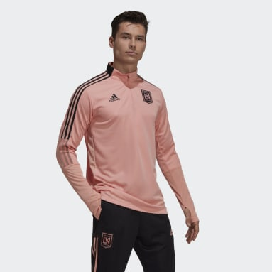 Men's Soccer Pink Los Angeles FC Training Top