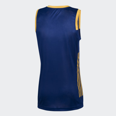 Camiseta de Básquet titular de Boca Juniors Azul Hombre Básquet