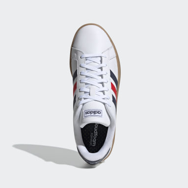 Men's Essentials White Grand Court Shoes