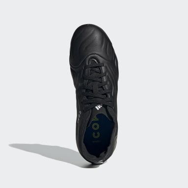Children Soccer Black Copa Sense.1 Firm Ground Cleats