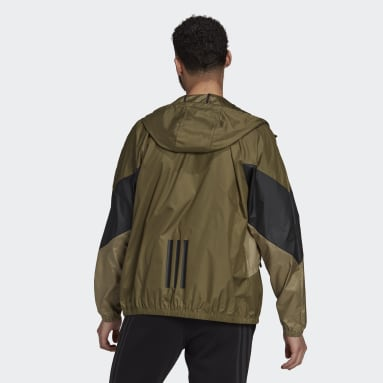 Men City Outdoor Green Back to Sport WIND.RDY Jacket
