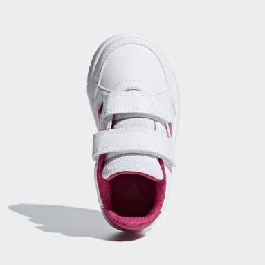 Girls Running White AltaSport Shoes