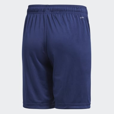Short da allenamento Core 18 Blu Bambini Fitness & Training
