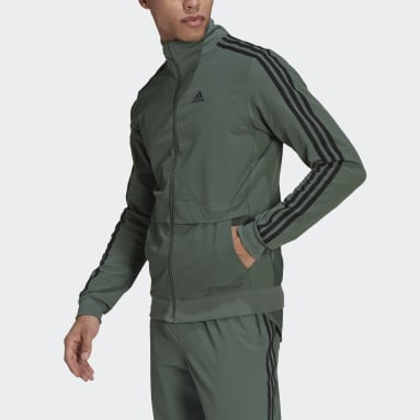 Men Cycling Green The Trackstand Cycling Jacket