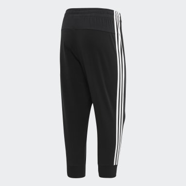 Women Sportswear Black Essentials 3-Stripes 3/4 Pants