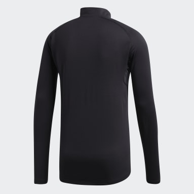 Men TERREX Black Trace Rocker Long-Sleeve Top