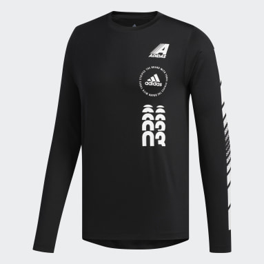 Men Gym & Training Black Moto Pack FreeLift Long-Sleeve Top