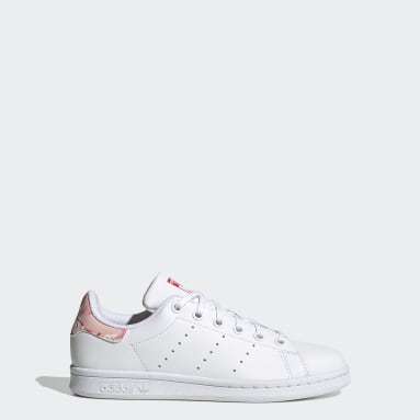 Kids Originals White Stan Smith Shoes