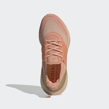 Zapatilla Ultraboost 21 Rosa Mujer Running