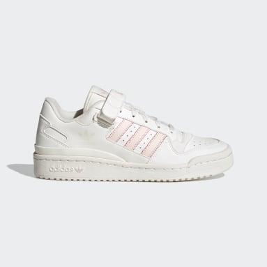Frauen Originals Forum Low Crest Schuh Weiß